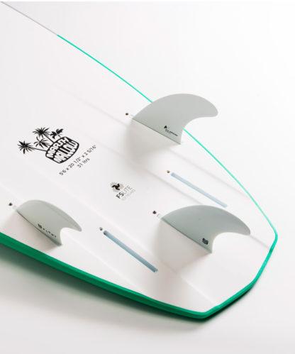 Green Bottom Tail Details
